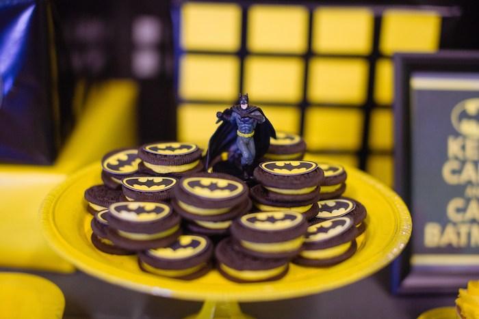 Batman Themed Birthday Party Via Karas Ideas KarasPartyIdeas Printables Decor Banners