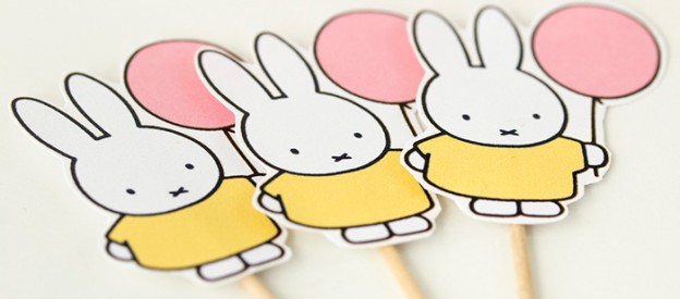 Miffy Bunny Party with Free Printables! via Kara's Party Ideas KarasPartyIdeas.com Printables, desserts, supplies, banners, and more! #miffybunny #miffybunnyparty #freeprintables #bunnyparty (2)