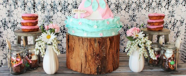 Vintage Rustic Camping themed birthday party via Kara's Party Ideas KarasPartyIdeas.com Cake, decor, supplies, recipes, printables, and more! #campingparty #glampingparty #rusticcampingparty #vintagepartyideas (1)