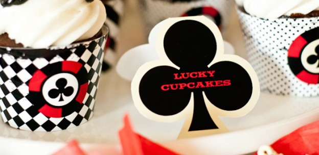 Casino Game Night Birthday Party via Kara's Party Ideas KarasPartyIdeas.com Printables, cake, decor, cupcakes, food, favors, and more! #casinogamenight #casinoparty #pokernight #casinoparty #gamenight #pokerparty (1)