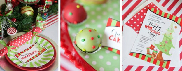 grinch inspired who liday christmas party via karas party ideas karaspartyideascom the place