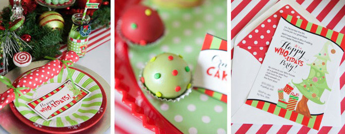 Kara's Party Ideas Grinch Inspired Who-liday Christmas Party