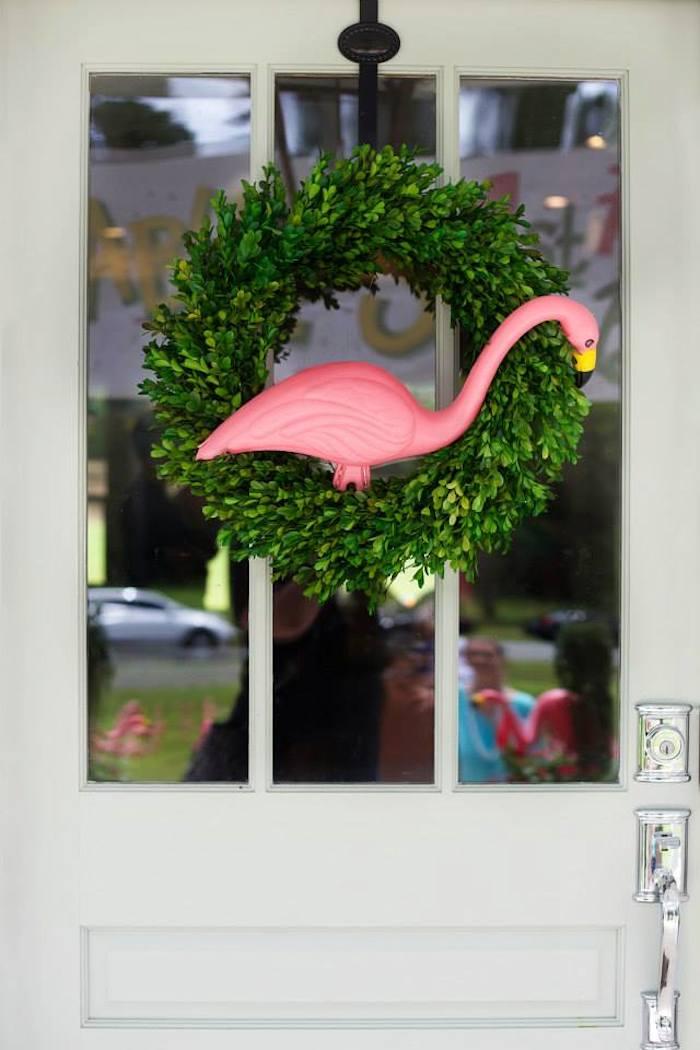 Kara 39 S Party Ideas Flamingo Themed 1st Birthday Party Via Kara 39 S Party Ideas