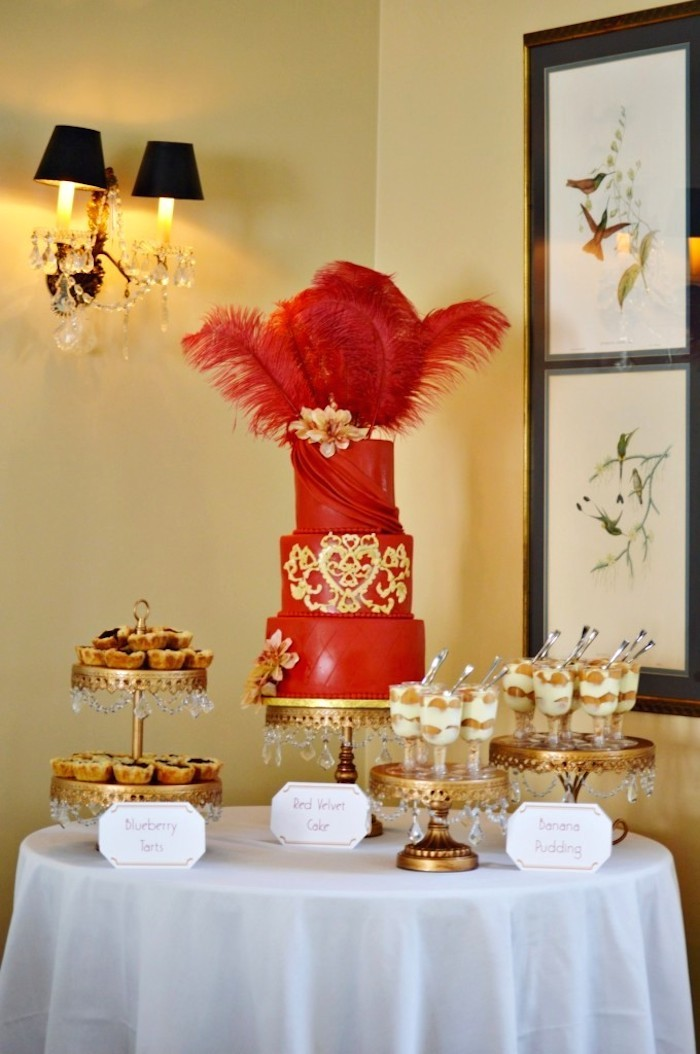 Kara S Party Ideas Harlem Renaissance Themed Bridal Shower