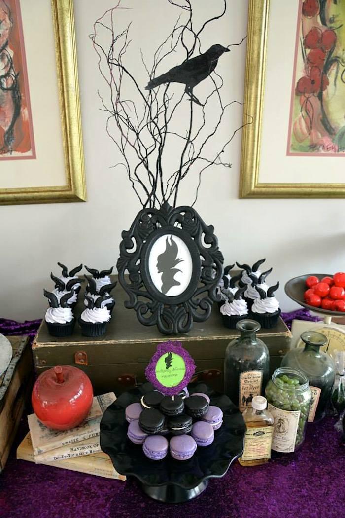 Kara S Party Ideas Maleficent Inspired Birthday Party Via