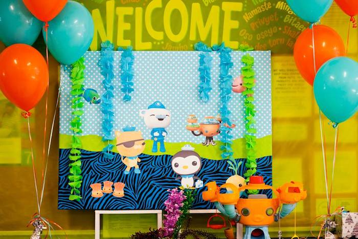 Octonauts Birthday Party Decorations: Kara's Party Ideas Octonauts Themed Birthday Party Via