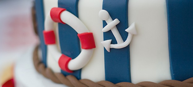 Sailor Girl Birthday Party via Kara's Party Ideas KarasPartyIdeas.com Cake, supplies, favors, food, and more! #nautical #sailor #sailorparty #nauticalparty (2)