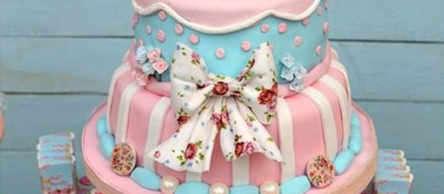 Shabby Chic Baptism Birthday Party via Kara's Party Ideas KarasPartyIdeas.com Cake, tutorials, recipes, favors, banners, food, and more! #shabbychic #shabbychicparty (2)