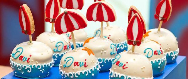 Surf themed birthday party via Kara's Party Ideas KarasPartyIdeas.com Cake, decor, supplies, cupcakes, food, and more! #surfparty #surferparty #surfingparty #surfercake #surfboardcake (1)