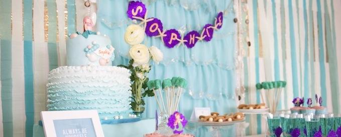 Kara S Party Ideas Mystical Mermaid Themed Birthday Party