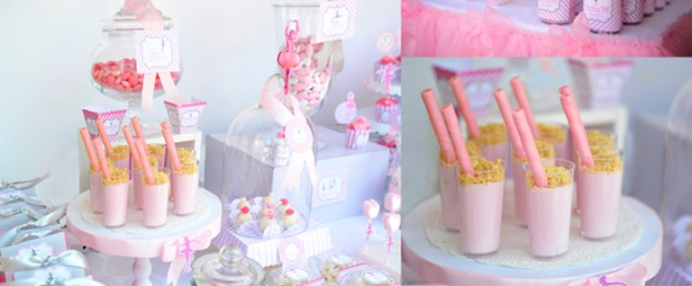 Little Ballerina Themed Birthday Party via Kara's Party Ideas KarasPartyIdeas.com The Place for All Things Party! #ballerinaparty #balletparty #balletpartyideas (1)