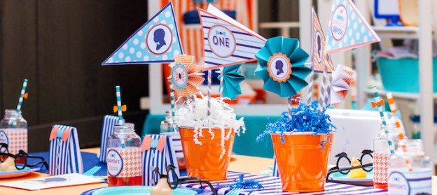 Silhouette Bow Tie 1st Birthday Party via Kara's Party Ideas KarasPartyIdeas.com Party supplies, decor, cake, recipes, tutorials, and more! #bowtieparty #silhouetteparty #bowties #bowtiecake #silhouette #firstbirthday (2)
