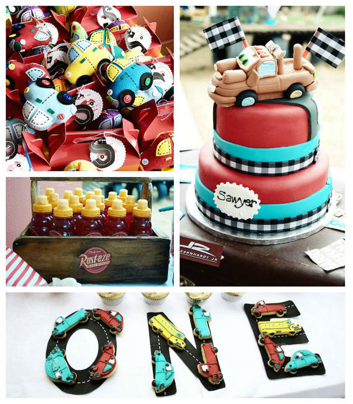 Kara's Party Ideas Car Themed 1st Birthday Party Via Kara