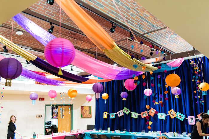 Fabulous Kara S Party Ideas Diwali Chinese Fusion Themed Birthday Via With Decoration For School On Board