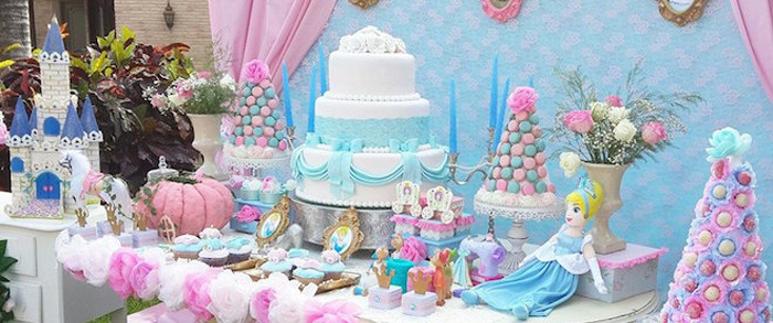 Princess Cinderella Birthday Party Via Kara S Ideas Karaspartyideas Cinderellaparty