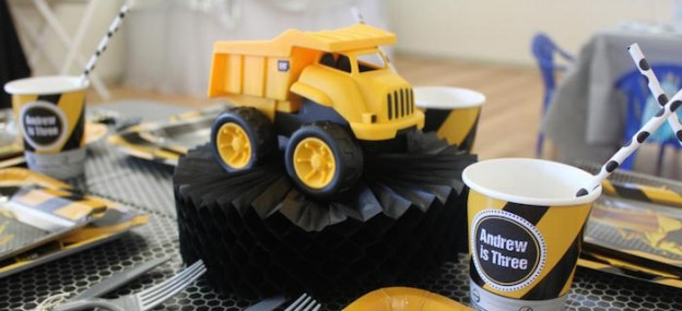 Construction Themed 3rd Birthday Party via Kara's Party Ideas KarasPartyIdeas.com The Place For All Things PARTY! #construction #underconstruction #constructionparty #boypartyideas (1)