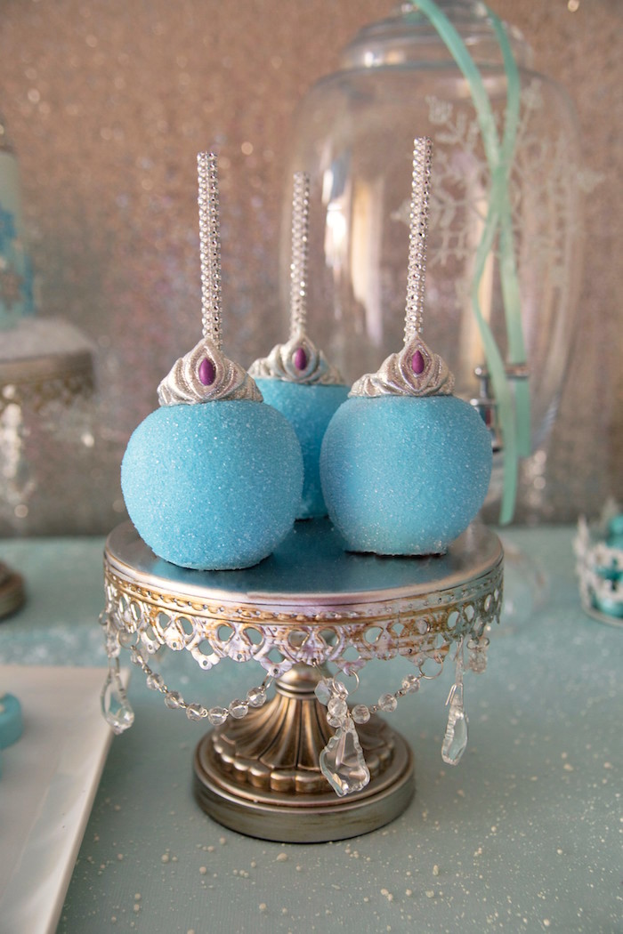 Kara S Party Ideas Frozen Wonderland Birthday Party Via