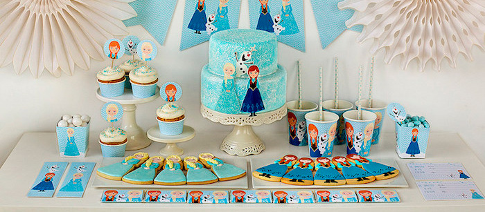 Karas Party Ideas Frozen Birthday Printables