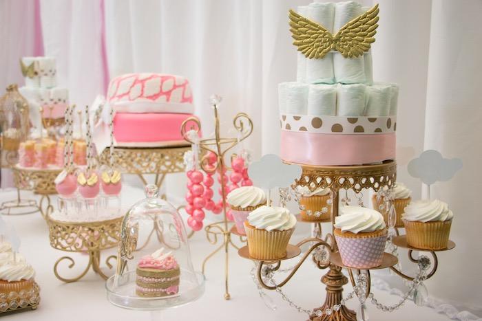 Kara S Party Ideas Thank Heaven For Little Girls Baby Shower
