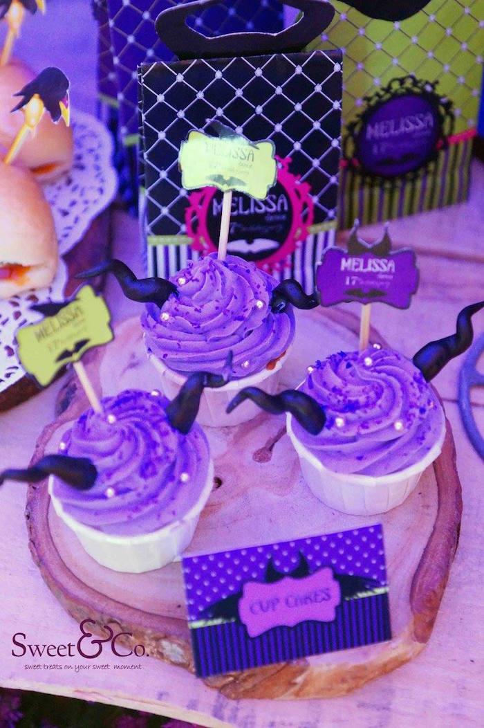 Kara S Party Ideas Maleficent Themed 17th Birthday Party