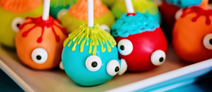Kara S Party Ideas Little Monster First Birthday Party