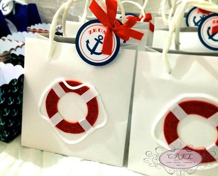 Nautical Themed 1st Birthday Party Via Karas Ideas KarasPartyIdeas Printables Tutorials