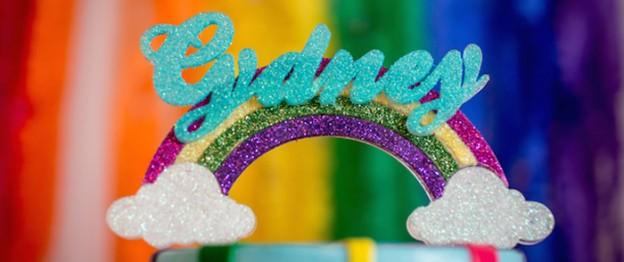 Rainbow Pony Themed Birthday Party via Kara's Party Ideas KarasPartyIdeas.com The Place for All Things Party! #rainbowparty #ponyparty #ponypartyideas #rainbowponyparty (2)