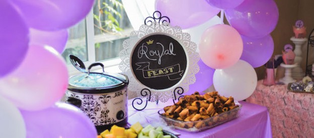 Sofia the First Princess Party via Kara's Party Ideas KarasPartyIdeas.com Tutorials, recipes, printables, favors, supplies, and more! #sofiathefirst #sofiathefirstparty #princessparty (1)