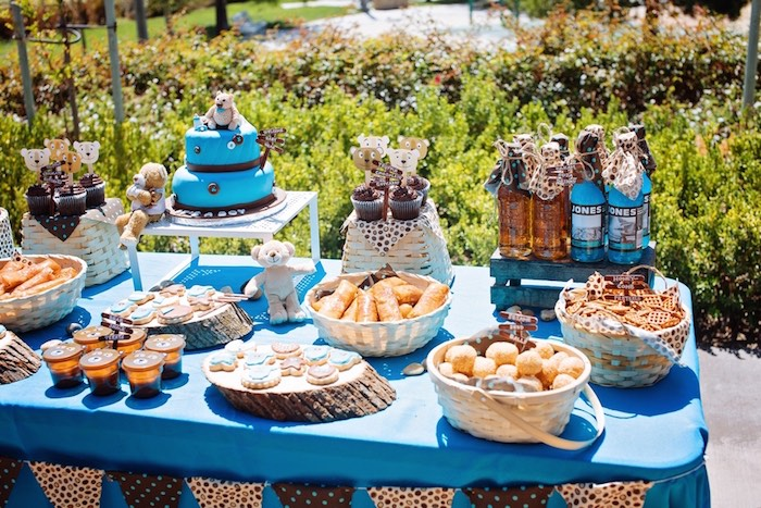 Awesome Teddy Bear Picnic Baby Shower Via Karau0027s Party Ideas KarasPartyIdeas.com  Cake, Decor,