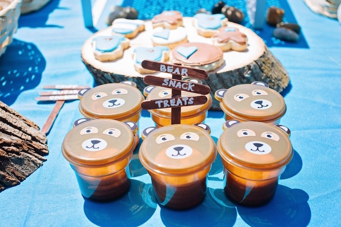 Teddy Bear Picnic Baby Shower Via Karau0027s Party Ideas KarasPartyIdeas.com  Cake, Decor,