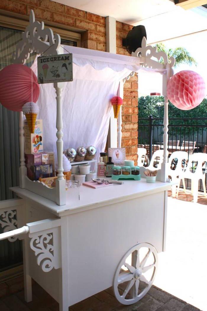 kara s party ideas vintage ice cream parlor themed