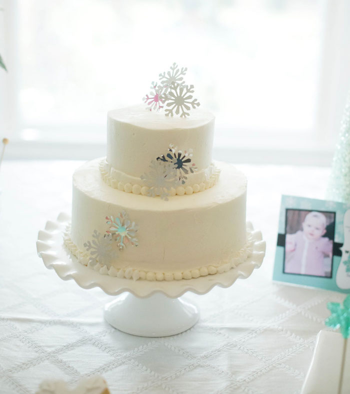 Cake Decor And More 1220 : Kara s Party Ideas Winter ONEderland Themed 1st Birthday ...