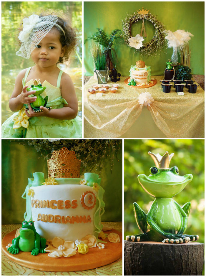 kara u0026 39 s party ideas princess and the frog birthday party via kara u0026 39 s party ideas  com i