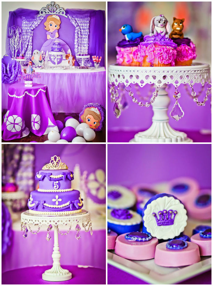 Kara39s Party Ideas Sofia The First Birthday Via