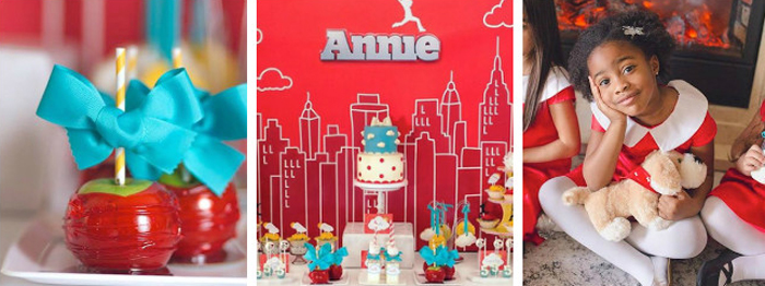 Annie birthday party decorations — img 1