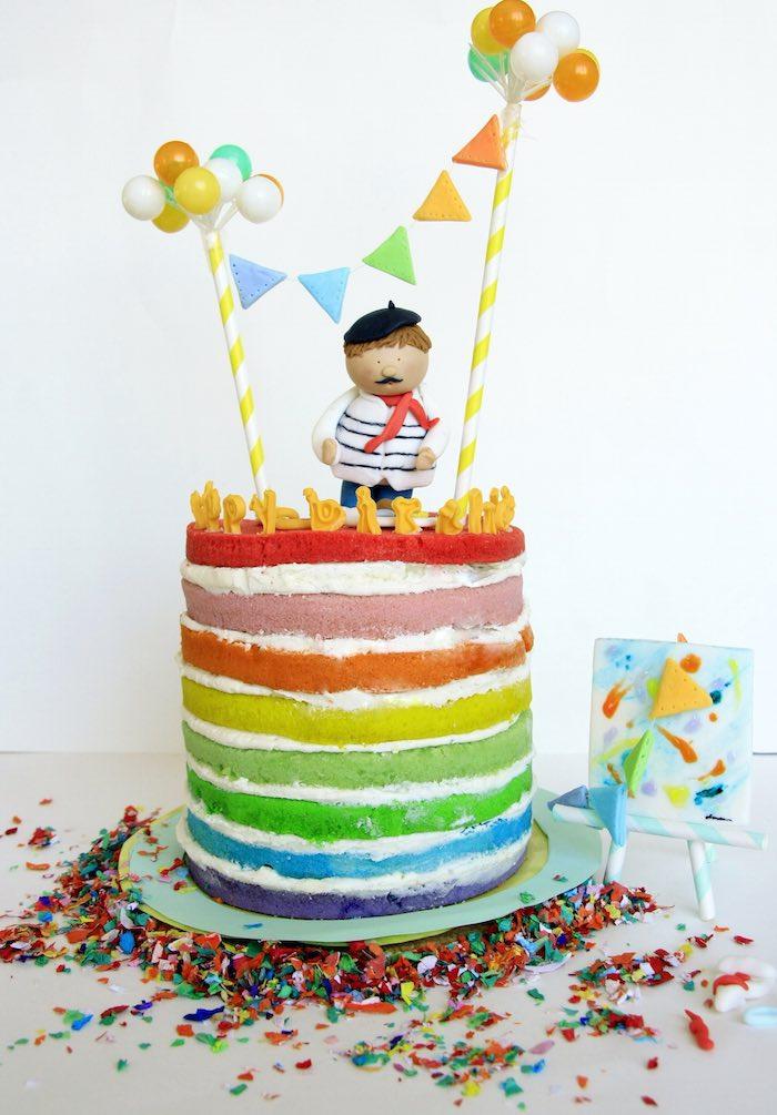 Karas Party Ideas Art Themed 2nd Birthday Party