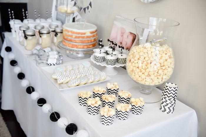 kara u0026 39 s party ideas black  u0026 white bow tie themed birthday party via kara u0026 39 s party ideas