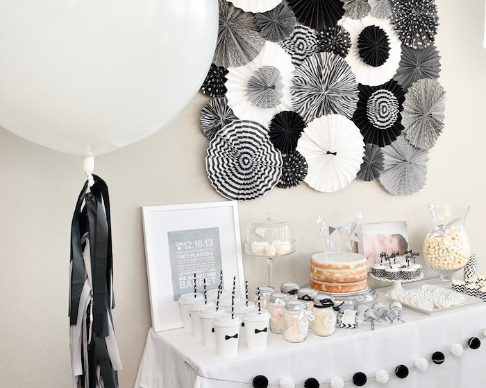 Black And White Theme Party Midway Media
