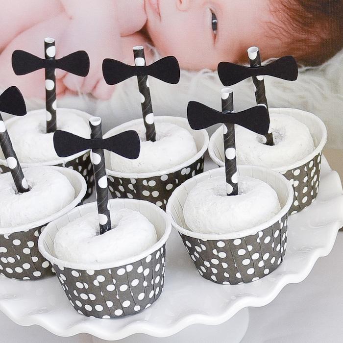 Black White Bow Tie Themed Birthday Party Via Kara S Ideas Karaspartyideas Cake