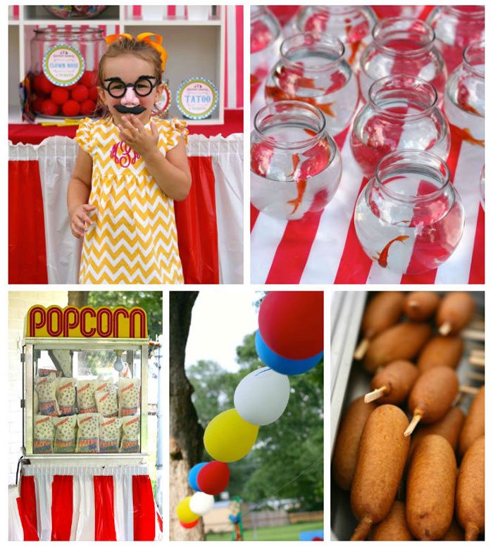 Greatest Showman Inspired Birthday Carnival Party via Kara's Party Ideas KarasPartyIdeas.com Printables, tutorials, games, banners, favors, food and more! #carnival #carnivalparty #carnivalbirthdayparty #birthdaycarnival #carnivalfood #genderneutralparty (2)