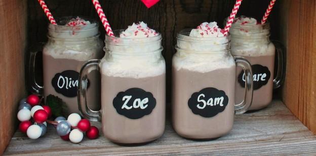 Rustic Plaid Hot Cocoa Bar via Kara's Party Ideas KarasPartyIdeas.com Printables, desserts, tutorials, giveaways and more! #winterparty #hotcocoabar #rusticpartyideas #winterplaidparty #plaid #babyitscoldoutside (1)
