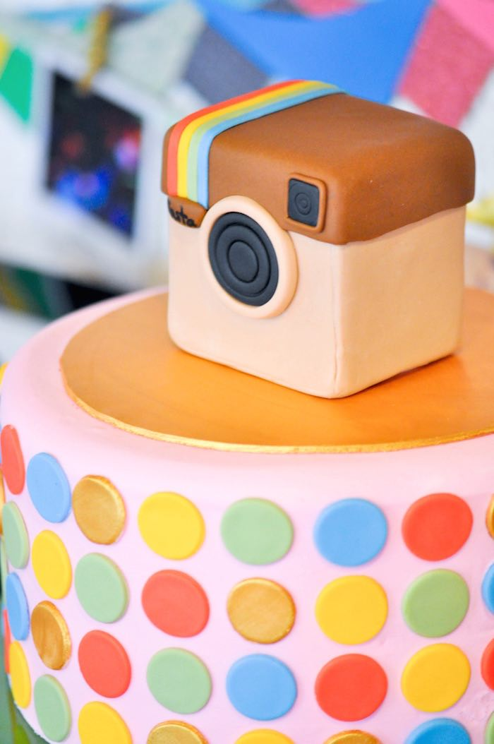 Kara S Party Ideas Glam Instagram Themed 13th Birthday Party Via Kara S Party Ideas