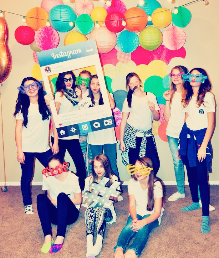 Kara's Party Ideas Glam Instagram Themed 13th Birthday