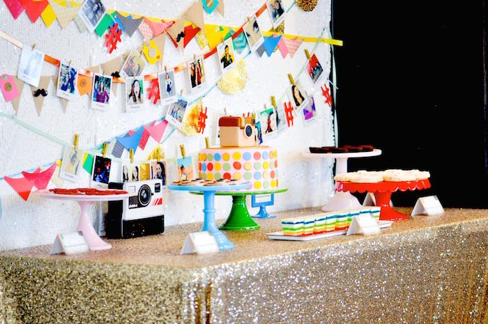 Kara 39 s party ideas glam instagram themed 13th birthday for 13th birthday party decoration ideas