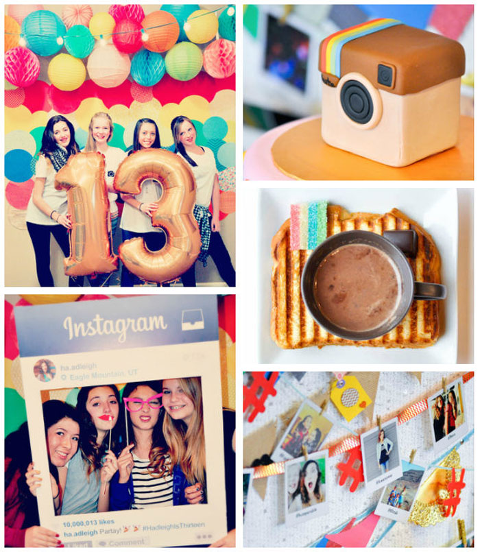 10 Surprisingly Fun Housewarming Party Games To Host The: Kara's Party Ideas Glam Instagram Themed 13th Birthday