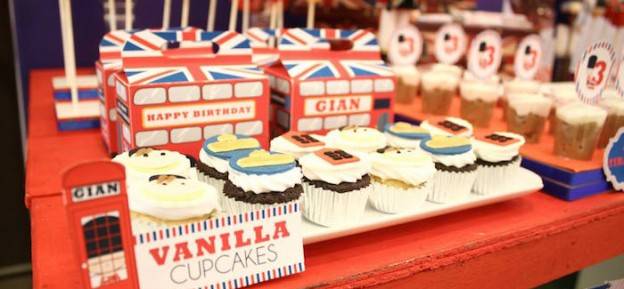 London + Paris Themed Birthday Party via Kara's Party Ideas KarasPartyIdeas.com The Place for All Things Party! #londonparty #parisparty #britishparty #aroundtheworld #parispartyideas #toysoldier (1)