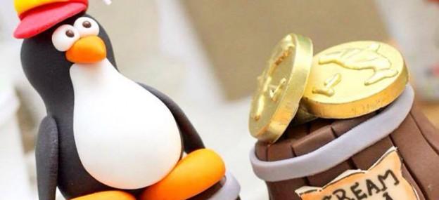 Club Penguin themed birthday party via Kara's Party Ideas KarasPartyIdeas.com The Place for All Things Party! #clubpenguin #clubpenguinparty #penguinparty (1)