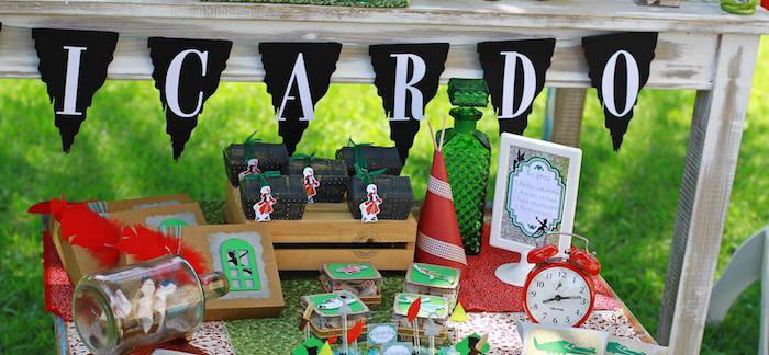 Kara S Party Ideas Peter Pan Neverland Themed Birthday Party