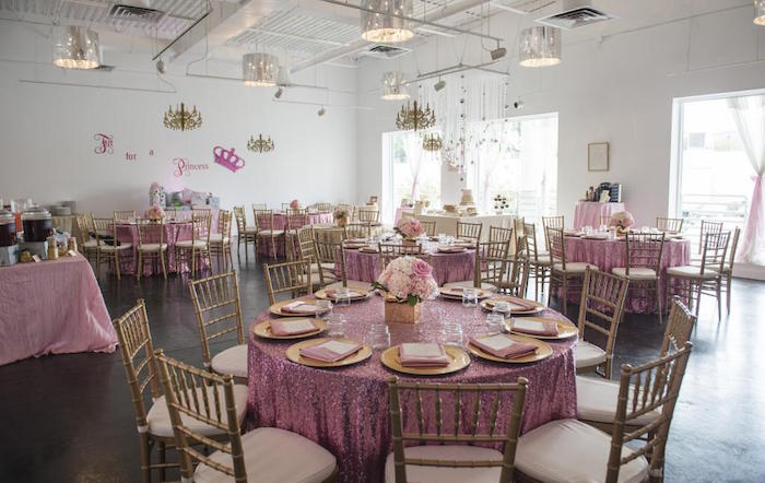 party ideas royal pink gold baby shower via kara 39 s party ideas
