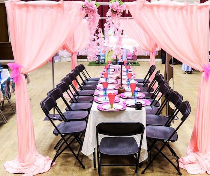 Kara S Party Ideas Glamorous Princess 5th Birthday Party